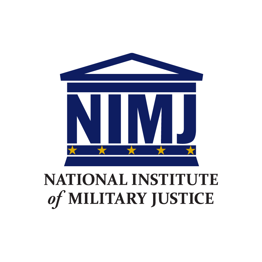 National Institute of Military Justice Logo