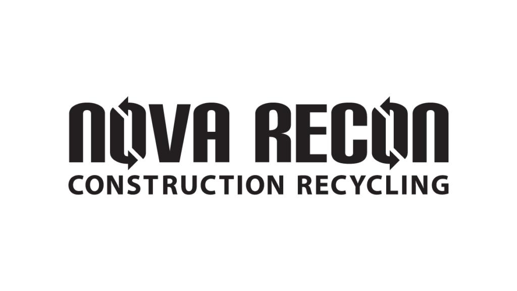 NOVA RECON Construction Recycling Logo